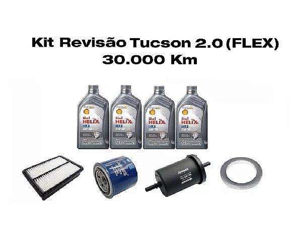 KIT REVISÃO HYUNDAI TUCSON 2.0 FLEX - 30 MIL KM