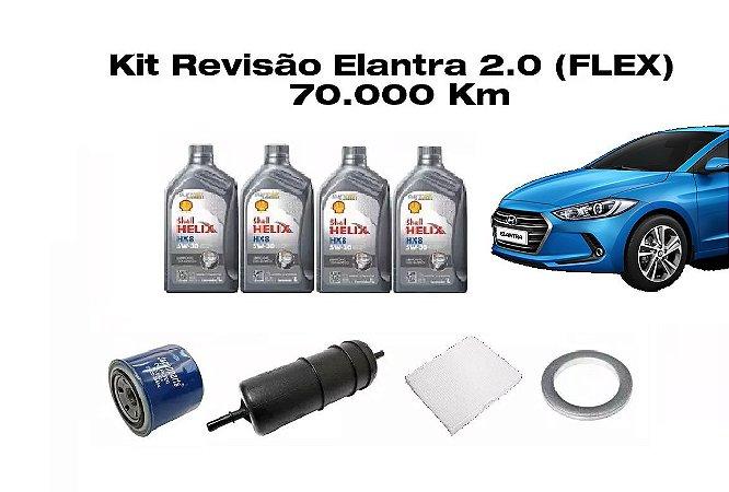 KIT REVISÃO HYUNDAI ELANTRA 2.0 - 70 MIL Km