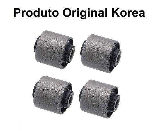 Kit Com 04 Buchas Da Bandeja Superior Suspensão Dianteira Hyundai Azera 3.3