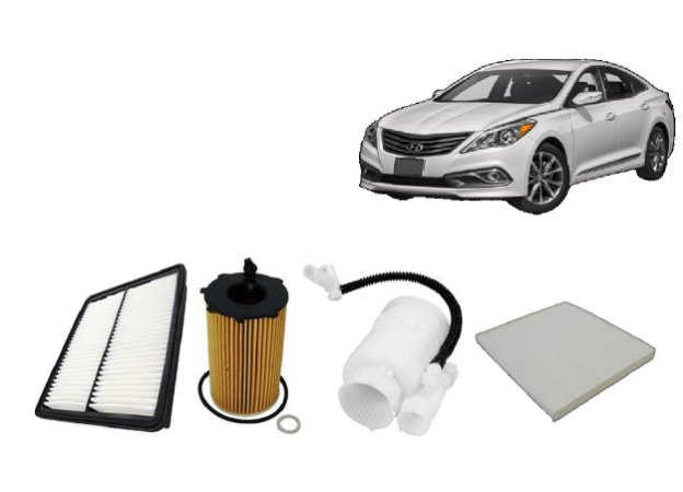 Kit De Filtros Hyundai New Azera 3.0