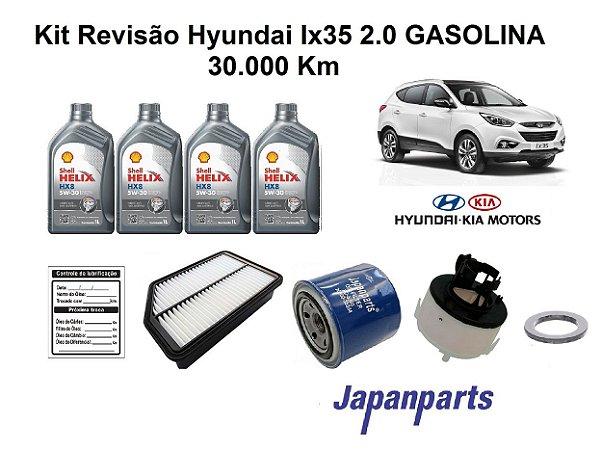 KIT REVISÃO HYUNDAI IX35 2.0 30 MIL KM - LINHA GASOLINA