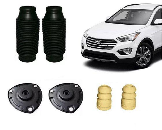 Kit Batente Coifa Amortecedor Suspensão Dianteira Hyundai Santa Fé 3.5
