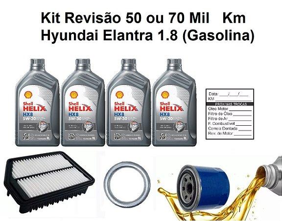 Kit Revisão Hyundai Elantra 1.8 Gasolina 50 Mil Ou 70 Mil Km