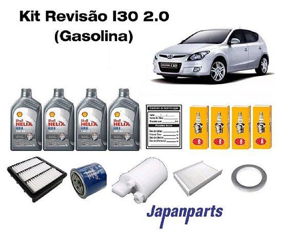 Kit Revisão Hyundai I30 2.0 Gasolina Com Jogo De Velas De Ignição