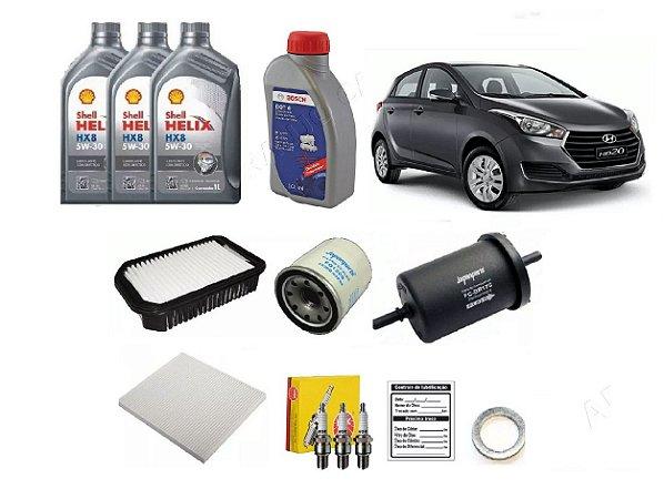 Kit Revisão Hyundai Hb20 1.0 40 Mil Km