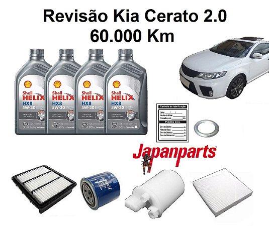Kit Revisão Kia Cerato 2.0 60 Mil Km