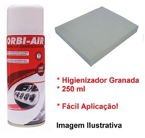 Filtro Da Cabine Ar Condicionado Com Higienizador Granada Hyundai Vera Cruz