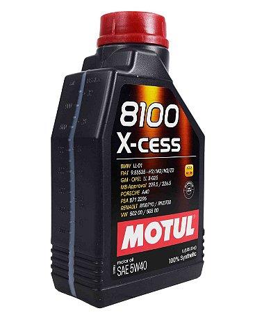 Óleo De Motor Motul 8100 X-cess 5W40 Sintético