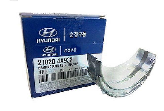 Bronzina De Mancal Do Motor Original Hyundai Hr Kia Bongo 210204A932