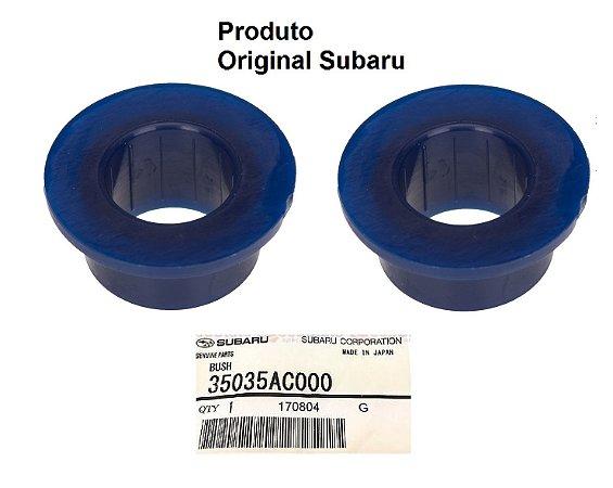 Par De Buchas Da Alavanca Do Câmbio Original Subaru Forester Impreza Legacy 35035AC000