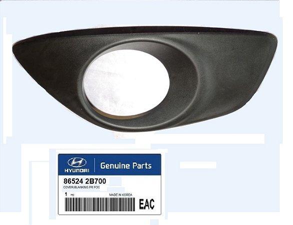 Moldura Farol De Neblina Lado Direito Original Hyundai Santa Fé 3.5 865242B700