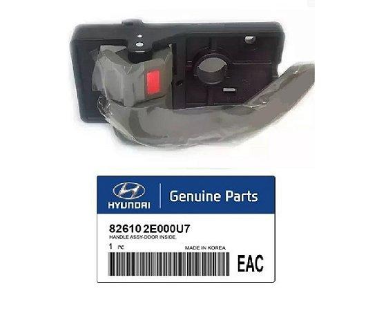 Puxador Maçaneta Interna Original Lado Esquerdo Hyundai Tucson 2.0 826102E000U7