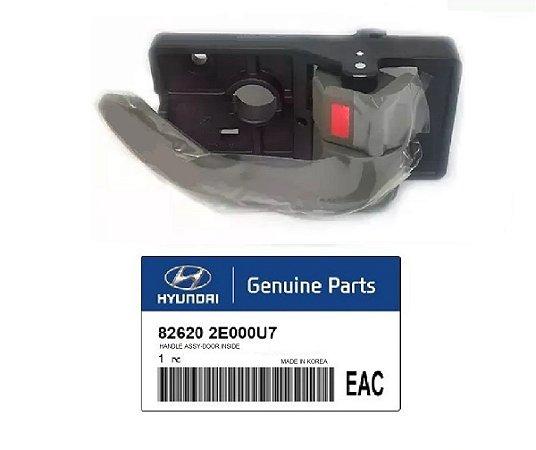 Puxador Maçaneta Interna Original Lado Direito Hyundai Tucson 2.0 826202E000U7