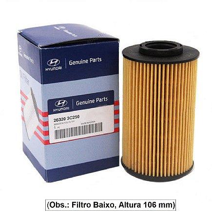 Filtro De Óleo Do Motor Original Hyundai Azera 3.3 263203C250