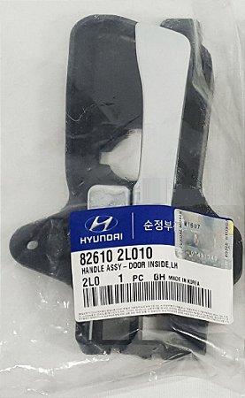 Maçaneta Interna Lado Esquerdo Original Hyundai I30 2.0 I30 Cw 2.0 Elantra 2.0 826102L010
