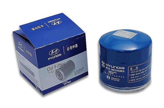 Filtro De Óleo Motor Original Hyundai Hb20 1.0 263002502