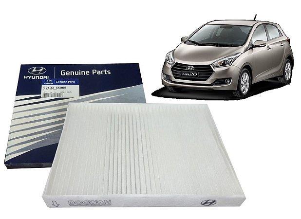 Filtro Da Cabine Ar Condicionado Original Hyundai Hb20 1.0 1.6 971331S000