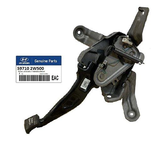 Conjunto Pedal Do Freio De Estacionamento Original Hyundai Santa Fé 3.3 597102W500