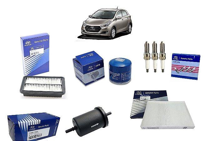 Kit De Filtros Original Hyundai Hb20 1.0 Com Velas