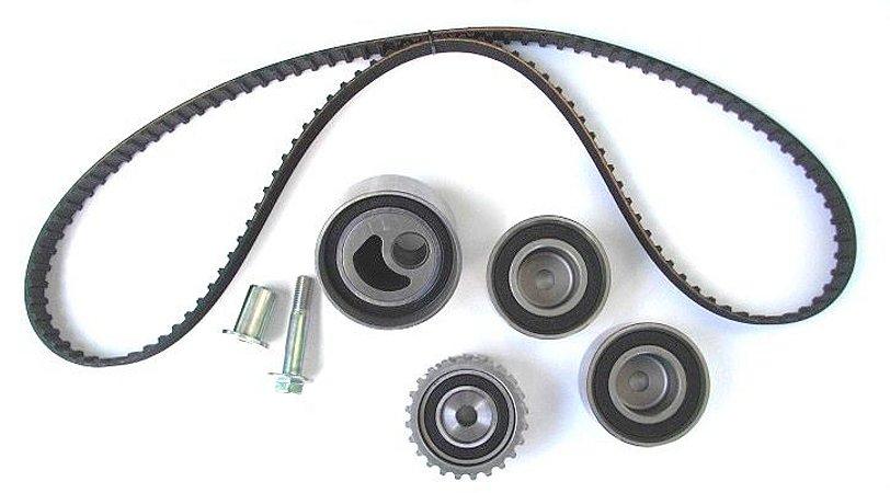 Kit Correia Dentada 211 Dentes com Rolamentos e Tensor Mecânico Subaru Impreza Legacy CT792K1