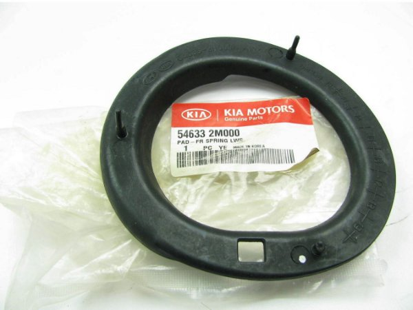 Calço Assento Da Mola Inferior Suspensão Dianteira Original Hyundai Ix35 2.0 Kia Sportage 2.0 546332M000