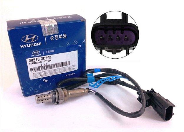 Sonda Lambda Sensor De Oxigênio Original Hyundai Santa Fé Vera Cruz Azera Kia Sorento 392103C100 292103C700