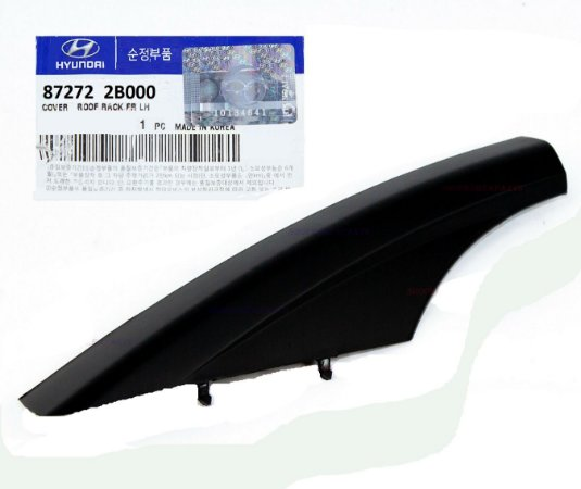 Acabamento Rack Do Teto Dianteiro Lado Equerdo Original Hyundai Santa Fé 2.7 872722B000