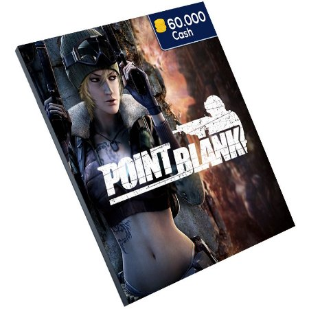 Pc Game - Point Blank 60.000 Cash Ongame