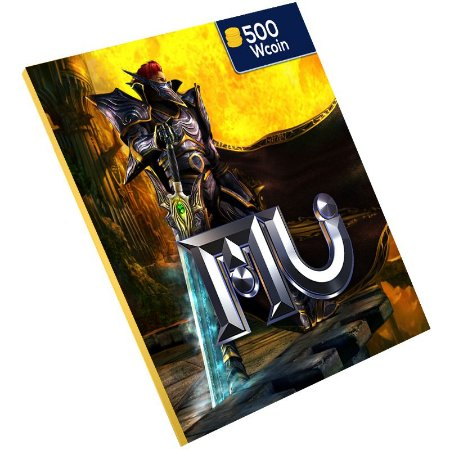 Pc Game - Mu online 500 Wcoin Ongame