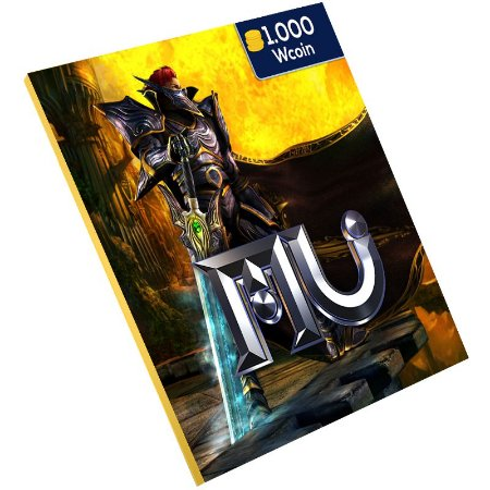 Pc Game - Mu online 1.000 Wcoin Ongame