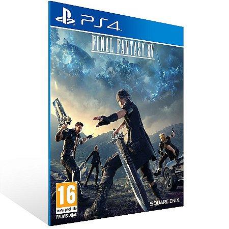 Ps4 - Final Fantasy XV - Digital Código 12 Dígitos US