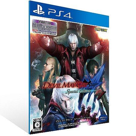 Ps4 - Devil May Cry 4 Special Edition - Digital Código 12 Dígitos US