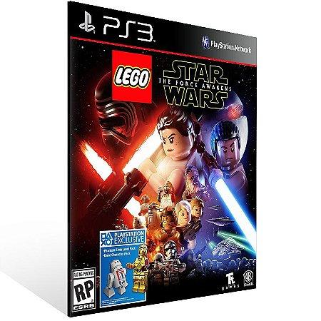 Ps3 - LEGO Star Wars: The Force Awakens - Digital Código 12 Dígitos US