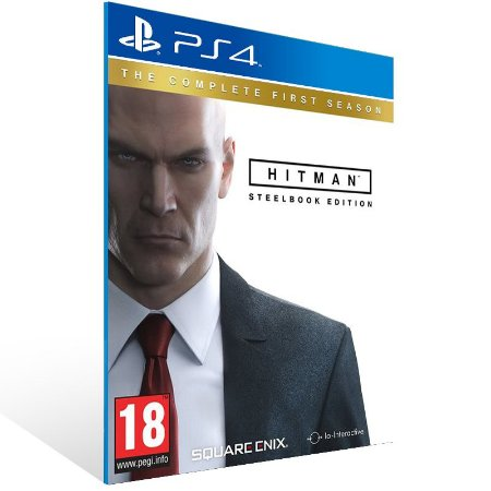 PS4 - Hitman The Complete First Season - Digital Código 12 Dígitos US