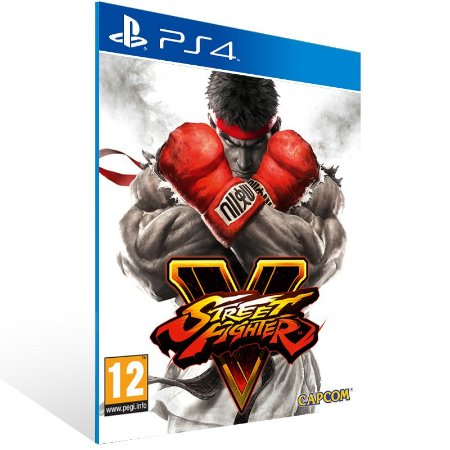 PS4 - Street Fighter V - Digital Código 12 Dígitos US