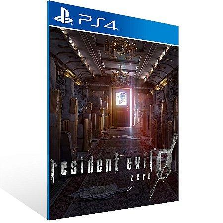 PS4 - Resident Evil 0  - Digital Código 12 Dígitos US