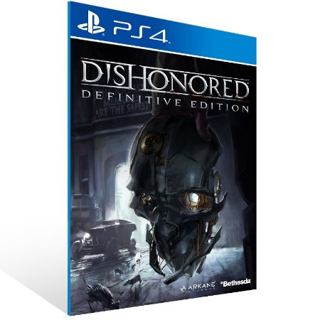 Ps4 - Dishonored Definitive Edition - Digital Código 12 Dígitos US
