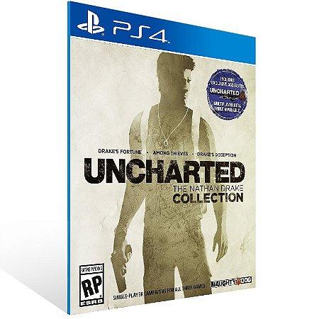PS4 - Uncharted The Nathan Drake Collection - Digital Código 12 Dígitos US