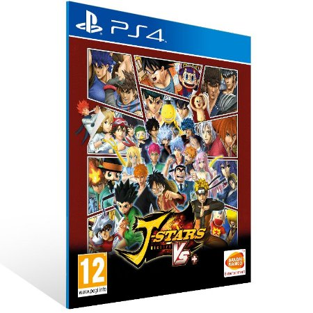 PS4 - J-STARS Victory VS+ - Digital Código 12 Dígitos US