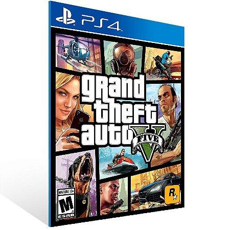 Ps4 - Grand Theft Auto V - Digital Código 12 Dígitos US