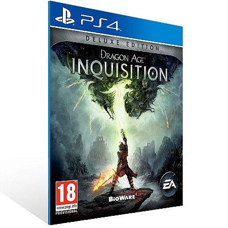 Ps4 - Dragon Age: Inquisition Deluxe Edition - Digital Código 12 Dígitos US
