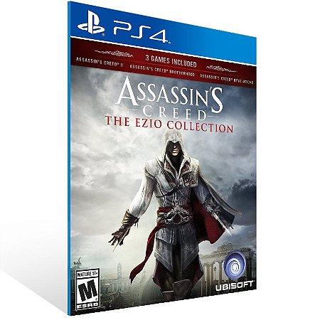 Ps4 - Assassin's Creed The Ezio Collection - Digital Código 12 Dígitos US