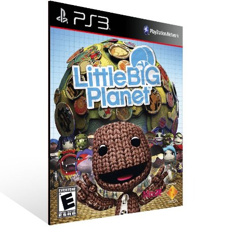 Ps3 - LittleBigPlanet - Digital Código 12 Dígitos US