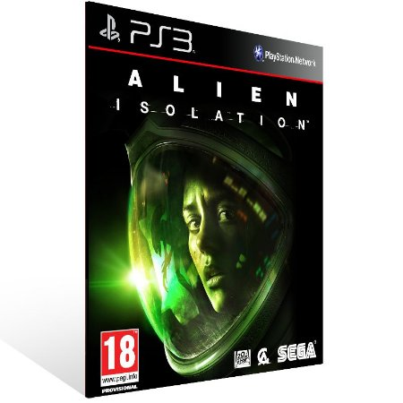 Ps3 - Alien Isolation - Digital Código 12 Dígitos US