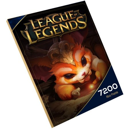 Pc Game - League of legends 7.200 Rp Riot