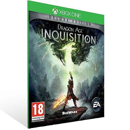 Xbox One - Dragon Age: Inquisition Deluxe Edition - Digital Código 25 Dígitos Brasileiro