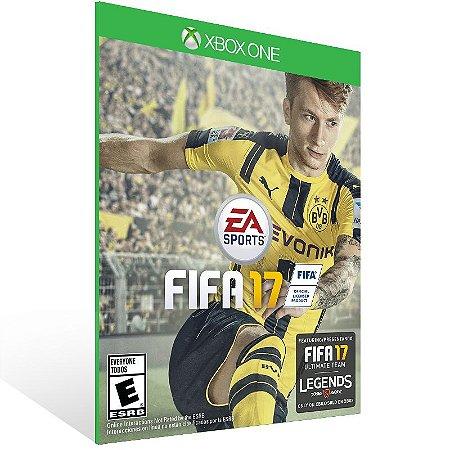 Xbox One - EA SPORTS FIFA 17 Edição Standard - Digital Código 25 Dígitos Brasileiro