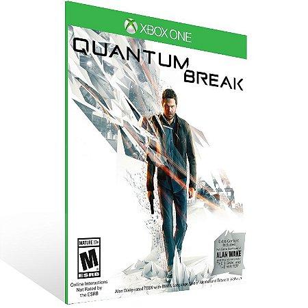 Xbox One - Quantum Break - Digital Código 25 Dígitos  Brasileiro