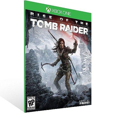 Xbox One - Rise of the Tomb Raider - Digital Código 25 Dígitos Brasileiro