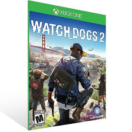 Xbox One - Watch Dogs 2 - Digital Código 25 Dígitos Brasileiro